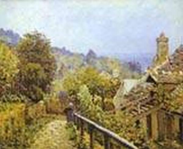 sentier de la mi cote louveciennes 1873 XX musee dorsay paris france
